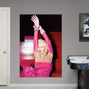 Marilyn Monroe Diamonds Mural Fathead Wall Decal